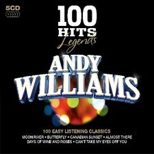 Andy Williams - 100 Hits Legends-Andy Williams [New CD] UK - Import