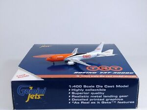 TNT EXPRESS AIRWAYS Boeing 737-300QC Aircraft Model 1:400 Scale Gemini Jets RARE