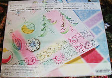 Creative Memories DoneWithOne Vellum Holiday Glimmer~Die-Cut Shaps NIP/NLA