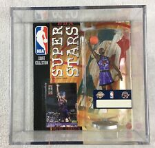 Vince Carter Toronto Raptors Action Figure and Card NBA Court Collection