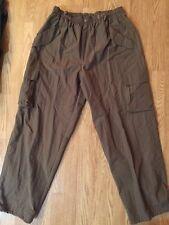 Men's B.U.M Brown Mesh Lined Hiking/Camping Cargo Pants Sz L Inseam 32 Euc M6