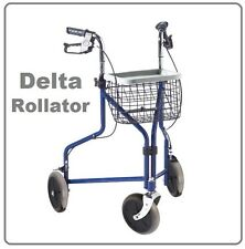 DELTA Gehrad Dreirad Wagen Rollator Gehwagen Dreiradrollator Schiebehilfe Hilfe