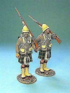 GDH-07 - Gordon Highlanders 2 Figures Standing - First Sudan War - John Jenkins