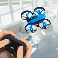 Blue UDI U46 Mini Drone 2.4G 4CH RC Quadcopter with Headless Mode for Beginners