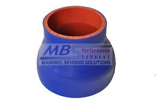 "SILICONE REDUCER COUPLER 4"" > 2.5"" BLUE 5 PLY HOSE INTERCOOLER TURBO MBS"