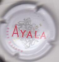 SUPERBE capsule champagne AYALA Blanc, brut majeur
