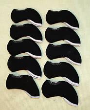 Brand New Golf Headcovers Black Callaway TaylorMade Ping Iron Set PCS 10