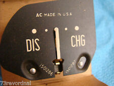 1951 52 Pontiac Ammeter Amp Gauge Dash Streamliner Catalina Chieftan NOS 1501286
