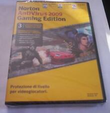 NORTON ANTIVIRUS 2009 gaming edition nueva original