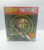 Johnny Mnemonic The Interactive Action Movie PC Game *1995 *Cd-Rom Windows NIB