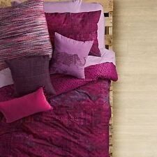 ANTHOLOGY Kylie QUEEN COMFORTER SET 4pc Elelphant PILLOW! NWT Bohemian PINK PLUM