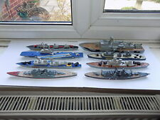 8 x DIECAST MODELS DINKY TOYS MATCHBOX SEA KINGS & ANCHOR WREATH BRAND SHIPS
