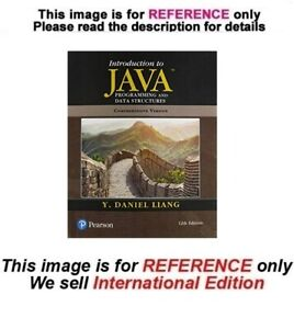 Introduction to Java Programming and Data Structures, Paperback 12th (Two Books)