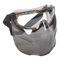 SSP76 Sealey Safety Goggles with Detachable Face Shield [Eye & Face Protection]