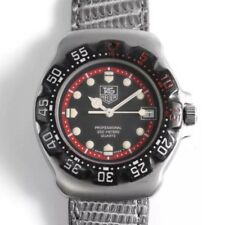TAG HEUER F1 formula 1 classic, middle size diver,BLACK/RED/SS-CASE
