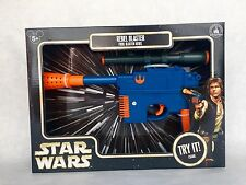 Disney Parks Star Wars Blue REBEL BLASTER Hans Solo Toy Gun - NEW