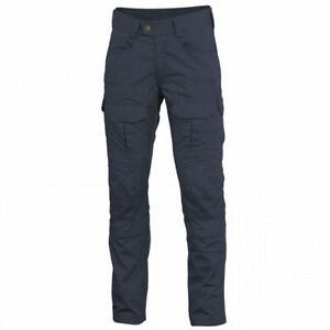 PENTAGON LYCOS COMBAT TROUSERS Mens Military Security Cargo Pants NAVY BLUE