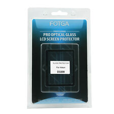 FOTGA PRO Optical Glass Rigid LCD Screen Protector For Nikon D3200 DSLR Camera