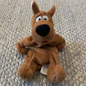 Vintage 1998 Warner Brothers Scooby Doo Beanie  Plush Toy Dog Bean Bag 90s TV