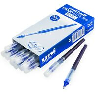 Uni-Ball Vision Elite Pen Refills - 0.8mm Fine - Liquid Ink - Blue - Pack of 12