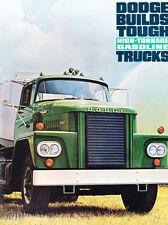 1964 Dodge Gas Semi Truck 12-page Car Sales Brochure - C-800 C-900 CT800 CT700