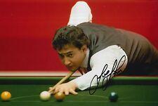 Joe Johnson mano firmado 12X8 Snooker Foto prueba 1.