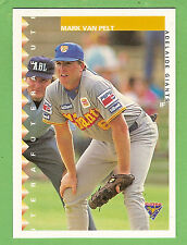 1995 AUSTRALIAN BASEBALL CARD #84  MARK  VAN  PELT,  ADELAIDE  GIANTS
