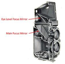 Rolleiflex 3.5E,F; 2.8F Eye Level Mirror, Removable Focusing Hood, TLR