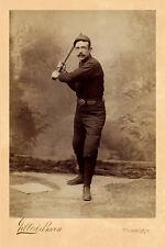 DEACON McGUIRE 1890 Legendary Major League Baseball Catcher Vintage Photograph