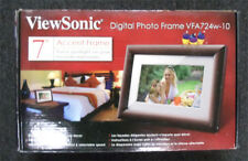 "ViewSonic  7"" Digital  Picture Frame VFA724W-10 accent frame  free shippng"
