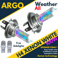 Fits Suzuki Sv650s 99-06 Xenon White 100w Headlight Bulbs H4 Bulbs 472 501 Led