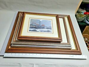 """5 """" Snow Squall"""" David Knowlton III Signed Offset Lithograph Art Print Signed"""
