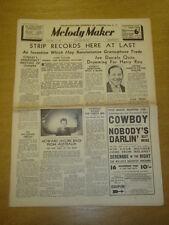 MELODY MAKER 1937 JAN 30 HOWARD JACOBS JOE DANIELS HARRY ROY BIG BAND SWING
