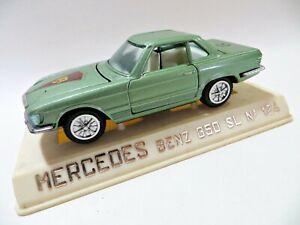 JOAL 124 'MERCEDES BENZ 350SL' LIGHT GREEN. 1:43. MIB/BOXED. SPAIN.