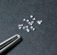 100% NATURAL WHITE LOOSE DIAMOND 2 MM G-H COLOR SI CLARITY BRILLIANT CUT 12A03