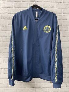 Adidas Men's Colombia Soccer FCF Anthem Jacket 2019 2020 Size XL DN6632