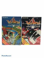 Nib Vintage Lot Of 2 Sony Voltron Defender Of The Universe Audio Video Tapes