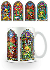 The Legend of Zelda Stained Glass Coffee Mug Cup (Official/New)