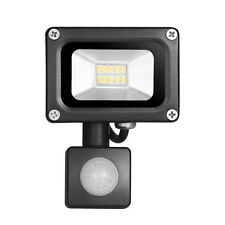 Warm White 10W LED PIR Motion Sensor Floodlight Security Lamp Outdoor Garden