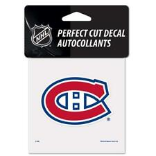 5629 WinCraft NHL Montreal Canadiens Perfect Cut Color Decal 4x4