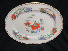 Large Ashette Limoges France Raynaud & Co Vieux Chine Damon Muted Fall Colour