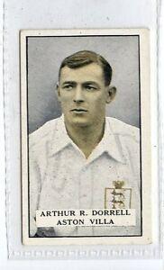 (Jd4845) GALLAHER,FAMOUS FOOTBALLERS(GREEN),ARTHUR R.DORRELL,1925,#34