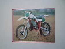 - RITAGLIO DI GIORNALE ANNO 1982 - MOTO TGM 250 CROSS