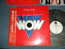 VOW WOW Japan Hard Rock Band 1985 WHITE LABEL PROMO NM LP+Obi CYCLONE