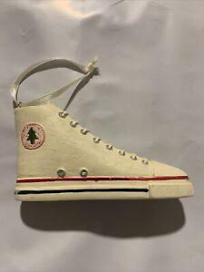 Christmas Ornament Converse Style Tennis Shoe Sneaker High Top