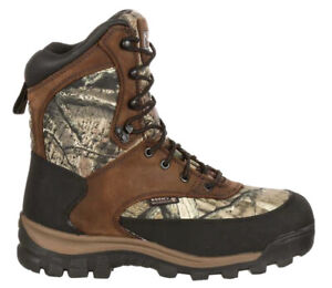 Rocky Core Comfort Boots Mossy Oak Infinity 800g WP Men's Size 13 Camo Hiker