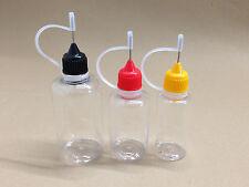 10 Stück 50ml Nadelflasche Nadelflaschen PET  Leerflaschen Tropfflaschen Dropper