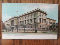 Vintage Postcard US Mint Philadelphia Pennsylvania City Building