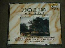 Verdi La Forza Del Destino - Complete Opera in 4 Acts 3-CD set sealed