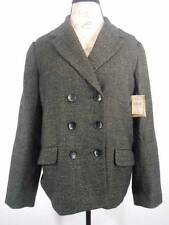 Beautiful Women's Size 16 Coldwater Creek Black Tweed Double Button LS Jacket